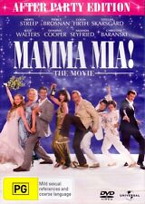 Mamma Mia The Movie After Party Edition DVD Region 4 T188