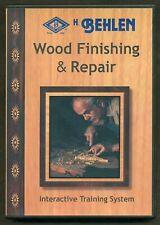 DVD 2005 - H. Behlen - Wood Finishing & Repair