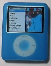 Apple iPod Nano 3rd Generation Blue, 8GB NEW BATTERY & New LCD,