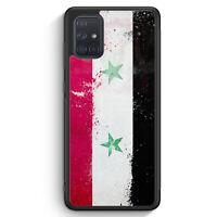 Syrien Grunge Silikon Hülle für Samsung Galaxy A71 Motiv Design Cover Handyhü...