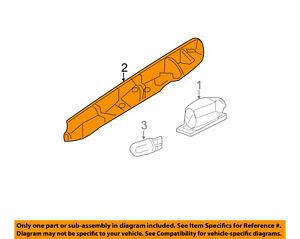 License Plate Light Lamp-Fog Light Lamp Cover 90674009009B51