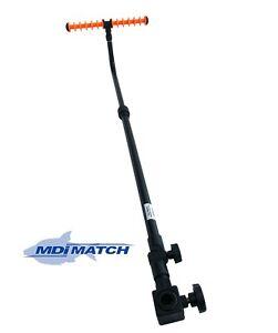 MDI Match Extendable Adjustable Tilt Fishing Feeder-Method Arm & Orange Rest