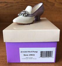 Raine Just the Right Shoe Jeweled Heel Pump Box 25011