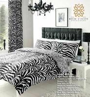 Zebra Print Duvet Cover Set Pillowcase Quilt Bedding Double King S.King Hot Sale