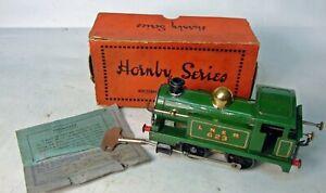 Early Meccano / Hornby O gauge LNER No1 Tank Loco