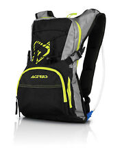 ZAINETTO H20 DRINK BACKPACK NERO GIALLO ACERBIS