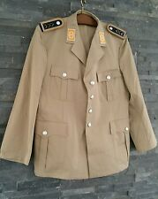 Bundeswehr Sakko Uniformjacke khaki Luftwaffe Bw Uniform Kostüm BW  gr. XL SMALL