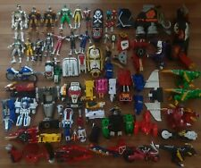 Power Rangers Lot of Figures & Megazord Parts Bandai Dino Charge 1990's 2000's