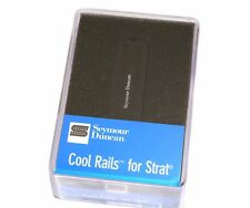 11205-08-B Seymour Duncan Black Cool Rails Bridge Pickup For Strat SCR-1b