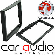 Vauxhall Corsa D Car Stereo Double Din Fascia Panel Piano Black  DFP-19-01/PB