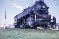 READING Railroad Steam Engine Locomotive 2102 GETTYSBURG PA Original Photo Slide