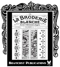 1926 La Broderie Blanche Book 401 (Embroidery Patterns)