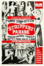 """Bettie Page Tempest Storm Strippers Parade 13x19"""" Photo Print"""