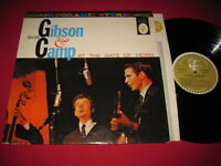 FOLK LP - GIBSON & CAMP AT THE GATE OF THE HORN - PANORAMIC STEREO