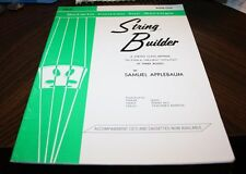 String Builder: Belwin Course For Strings
