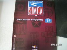** les belles années SIMCA n°15 Simca Marly / Amédée Gordini