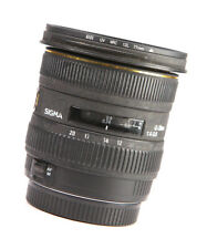 Sigma EX 10-20mm DC HSM F4-5.6 Zoom Lens - For Canon + Rear Lens Cap + Filter