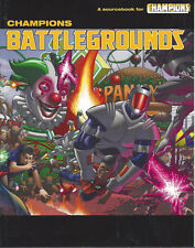 Champions RPG Battlegrounds Sourcebook SC  FN/VF  5th Edition  30% OFF