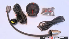 D1 Spec 52mm JDM Stepper Motored Black Face Oil Pressure Gauge