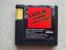 Lotus Turbo Challenge - Sega Mega Drive Game (Tested - Fast Dispatch - PAL)