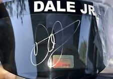 Dale Earnhardt Jr Autograph Signed  Visor Dale Jr COA + 3 Signed Hero Cards