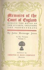 John Heneage Jesse English Historian Promotion Catalog 19th Century Unique Rare!
