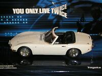 MINICHAMPS JAMES BOND 007 TOYOTA 2000GT 400 166230 1:43 YOU ONLY LIVE TWICE