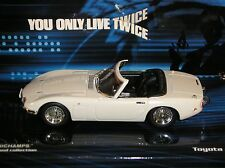MINICHAMPS James Bond 007 Toyota 2000gt 400 166230 1:43 YOU ONLY DIRECTO twice