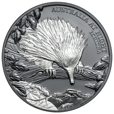 Niue - 1 Dollar 2020 - Ameisenigel - Australien bei Nacht (3.) - 1 Oz Silber BP