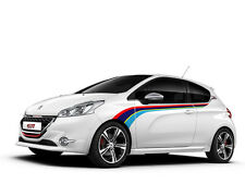 Peugeot 208 GTi Rally side stripe graphics decals aufkleber adesivi pegatina