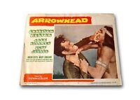 """ARROWHEAD"" ORIGINAL 11X14 AUTHENTIC LOBBY CARD POSTER PHOTO 1953"