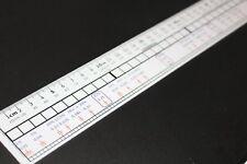 LATAMAT - règle de 30 cm pour calculer, visualiser les nombres et les fractions