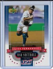 RARE 2002 UPPER DECK LISA FERNANDEZ SOFTBALL CARD #2 ~ USA TEAM ~ UCLA LEGEND