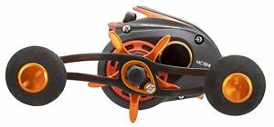 Lew's Mach Orange Crush Low Profile Baitcast Reel, LH, 10 (MC1SHL)