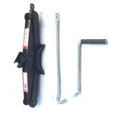 2 Ton Scissor Jack Auto Car Emergency Tire Repair Chromed Crank Lift Hand Tool