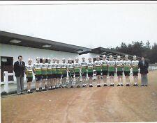 CYCLISME carte équipe cycliste MINI-FLAT VERMEER-THYS GALLI format 18 x 13,5 cm