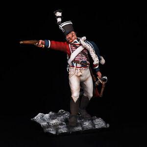 Tin soldier, Prussian hussar, 2nd regiment, 1806 year 54 mm