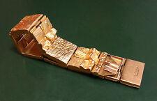 Erstklassiges LAPPONIA 585er GOLD-ARMBAND breit Weckström • 67,15 g Goldarmband