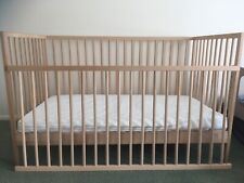 IKEA cot  + mattress +  bedding