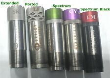 NEW BRILEY REMINGTON CHOKE TUBE. CHOICE OF SPECTRUM PORTED EXTENDED BLACK
