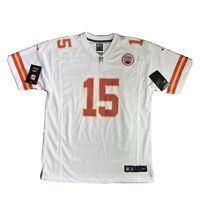 Nike Kansas City Chiefs White Game Jersey Shirt #15 MAHOMES Womens Youth XL BNWT