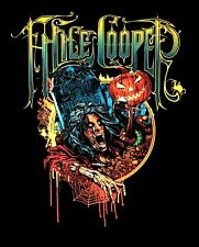 ALICE COOPER cd lgo HALLOWEEN 2015 Official SHIRT XL New no one gets out alive