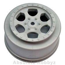 DE Racing Trinidad SC Wheels (Silver) (1pr) (TEN-SCTE/22SCT) - DER-SCT-10S