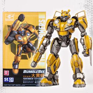 "Transformers Bumblebee Plastic Smart Model Kit 4"" Figure Trumpeter Official"