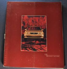 1996 Lexus GS 300 Prestige Catalog Sales Brochure Nice Original 96