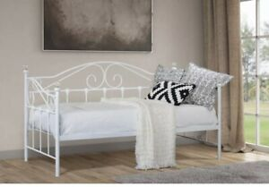 single metal day bed frame