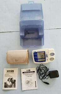 RELION Automatic Digital Blood Pressure Monitor Arm Cuff HEM-780REL A/C Battery
