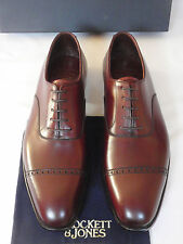 NEW Crockett & Jones BELGRAVE Handgrade Brown Leather Shoes ALL SIZES RRP £525