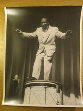 RKO PALACE SIGNED 11 x 14 PHOTO STUFFY BRYANT VAUDEVILLE DANCER ON DRUM