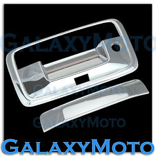 15-16 Chevy Colorado Triple Chrome Tailgate Handle w/Keyhole+Camera hole Cover
